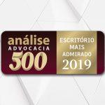 Ricci Advogados Propriedade Intelectual está entre os escritórios mais admirados de 2019